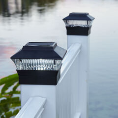 Solar Fence Post Light,