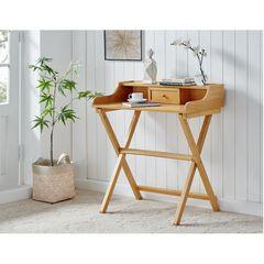 Coy Natural Folding Desk,
