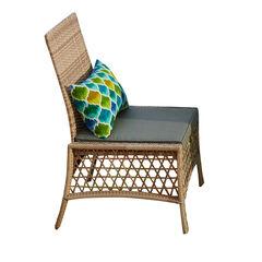 Santa Rosa Resin Wicker Dining Chair,