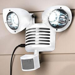 Solar Motion Sensor Security Light, WHITE