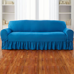 Sofa Slipcover, BLUE