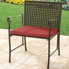 Oversized Metal Folding Chair with Cushion, GERANIUM