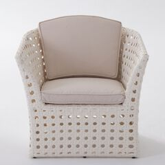 Capri All-Weather Wicker Chair,