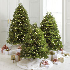 5 mountain pine pre lit tree - Pre Lit And Decorated Christmas Trees