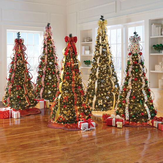 Pre-Lit 7½' Pop-Up Christmas Tree