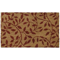 "Printed Coir Door Mat 18"" x 30"","
