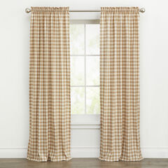 Buffalo Plaid Curtain,