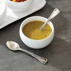 Demitasse Stamped Spoons, Set of 2,