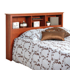 Monterey Cherry Double / Queen Bookcase Headboard,