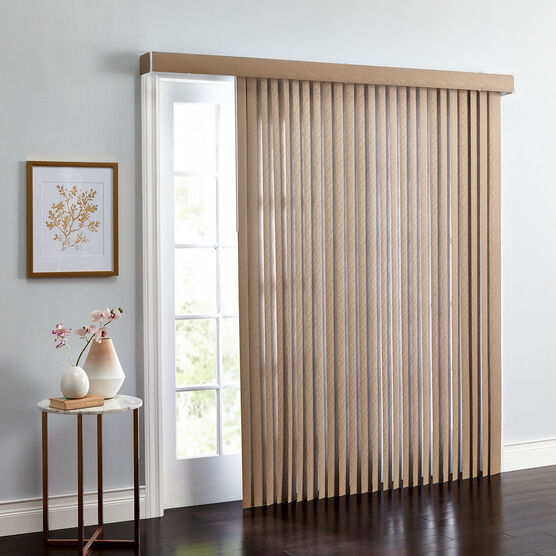 Embossed Vertical Blinds Shades Brylane Home