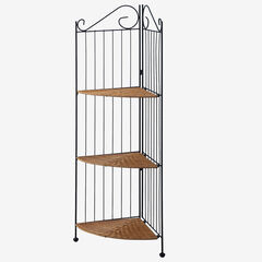 3 Tier Corner Bookcase,