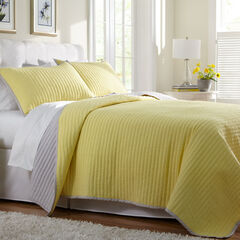 Marlow Crinkle Quilt & Sham,