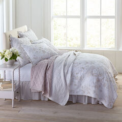 Frances 6-Pc. Rose Pattern Quilt Set, SMOKY TAUPE