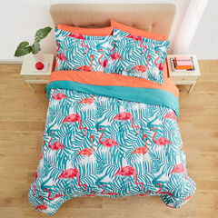 BH Studio 3-Pc. Comforter Set, FLAMINGO
