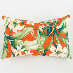 "20"" x 13"" Lumbar Pillow, NAYA PAPAYA"