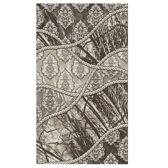 Jewel Brown 5' x 8' Area Rug, BROWN