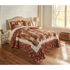 Allison Printed Patchwork Bedspread Collection ,