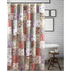 Blooming Prairie Shower Curtain by Greenland Home Fashions,