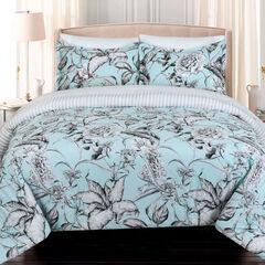 Sketch Floral Comforter Set,