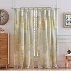 Juniper Sage Curtain Panel Pair ,