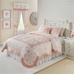 Emma Embroidered Quilt Collection,