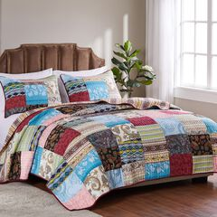 Bohemian Dream Quilt Set ,