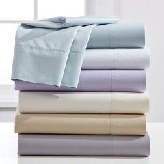 1200 Thread Count Hemstitched 6-Pc. Sheet Set, WHITE