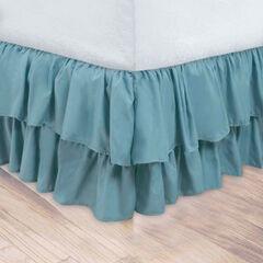 Double Ruffle Bedskirt,