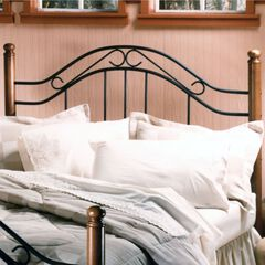 "King Headboard with Headboard Frame 71½ ""Lx79½""W x50""H,"