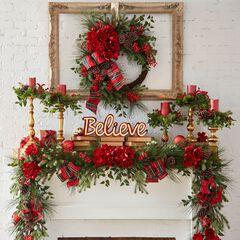 Bellmead Wreath & Garland,