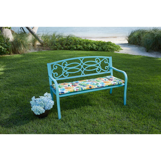 Steel Garden Bench,