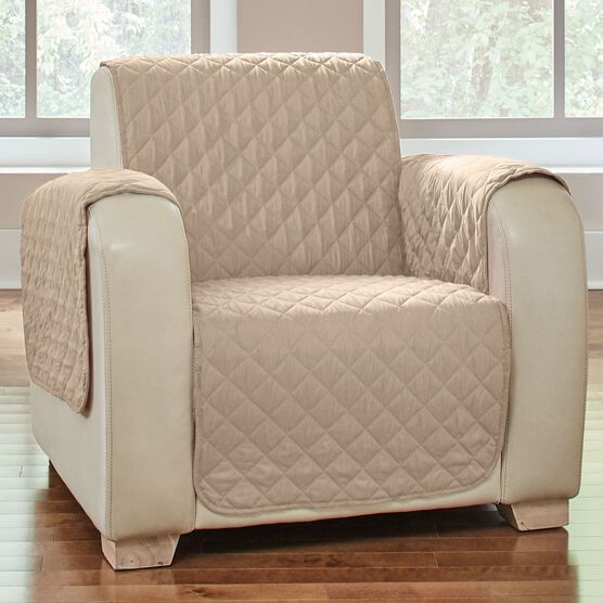 BH Studio® Water-Repellent Microfiber Chair Protector,