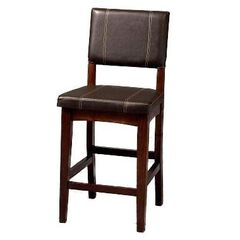 "Counter Stool, 17¾""Wx19½""Dx24""H,"
