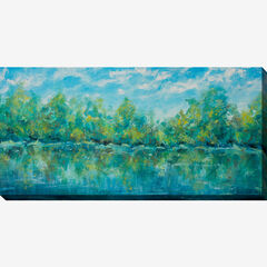 Blue Sky Pond Wall Art,