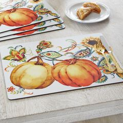 Autumn Bliss Placemats, Set of 4,
