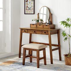 Coy Walnut Folding Desk,