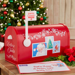 Mr. Christmas Santa's Enchanted Mailbox,