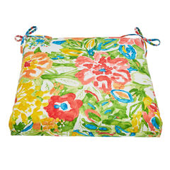 Patio Chair Cushion, POPPY GREEN