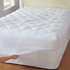 Bed Tite™ Mattress Pad, WHITE