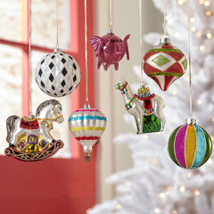 Carnival Ornaments, Set of 7,