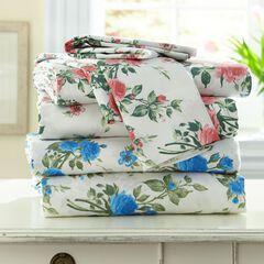 Samantha Floral Bed Tite™ 300-TC Cotton Sheet Set,
