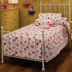 Twin Bed with Bed Frame 76'L x 39 ½'W x 48 ½'H,