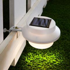 Solar LED Fence or Gutter Light,