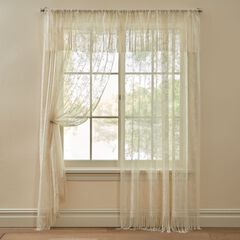 Josephine Fringe Lace Window Collection,