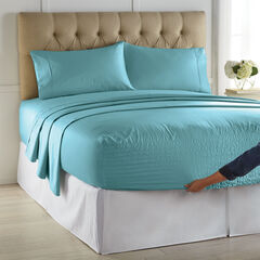 Bed Tite™ 500-TC Cotton/Poly Blend Sheet Set, BLUE HAZE