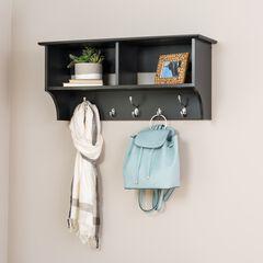 "36"" Wide Hanging Entryway Shelf,"