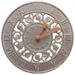 Ivy Silhouette 12' Indoor Outdoor Wall Clock,