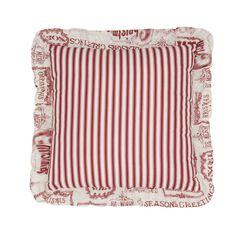 Vintage Christmas 16' Sq. Pillow,