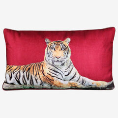 Tiger Reversible Decorative Pillow,