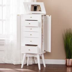 Wesley Jewelry Armoire,